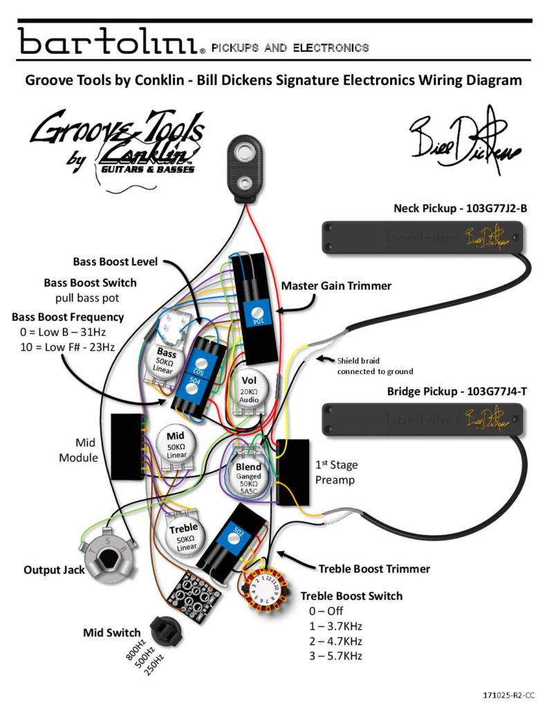 Groove Tools by Conklin - Bartolini HR-GTBD-7 Wiring Diagram ... on secondary ignition pickup sensor probe schematic diagram, mazda tribute cruise control harness diagram, 12v diesel fuel schematics diagram, cat5 diagram, mazda 6 throttle connection diagram, rj45 connector diagram,