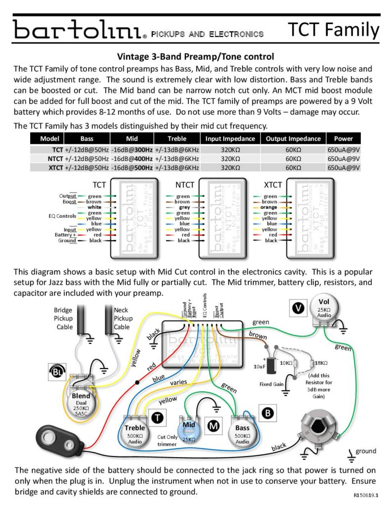 wiring diagrams bartolini pickups \u0026 electronicstct wiring diagram