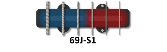 6 string original dual coil j bass 69j bartolini pickups electronics. Black Bedroom Furniture Sets. Home Design Ideas