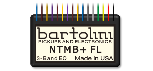 NTMB+FL 3-Band EQ Preamp Module