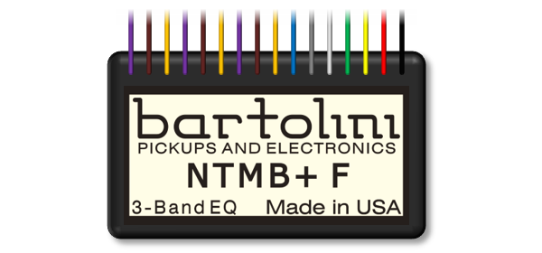 NTMB+F 3-Band EQ Preamp Module